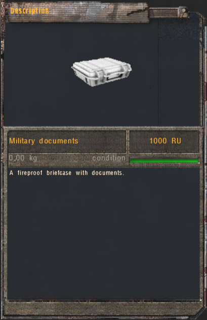 Military documents (Click image or link to go back)